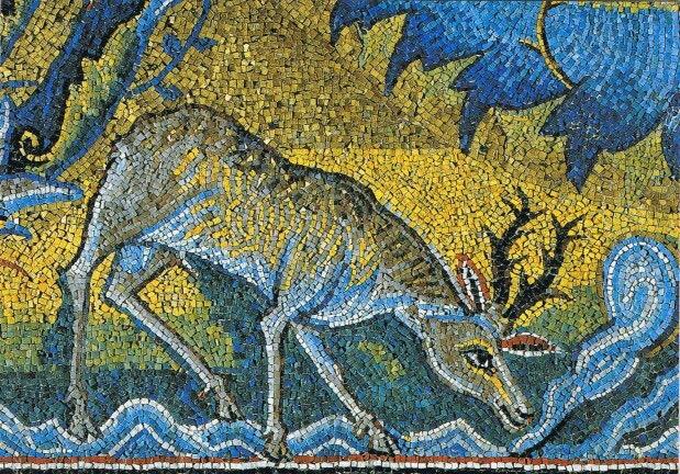 As the deer longs for runningstreams