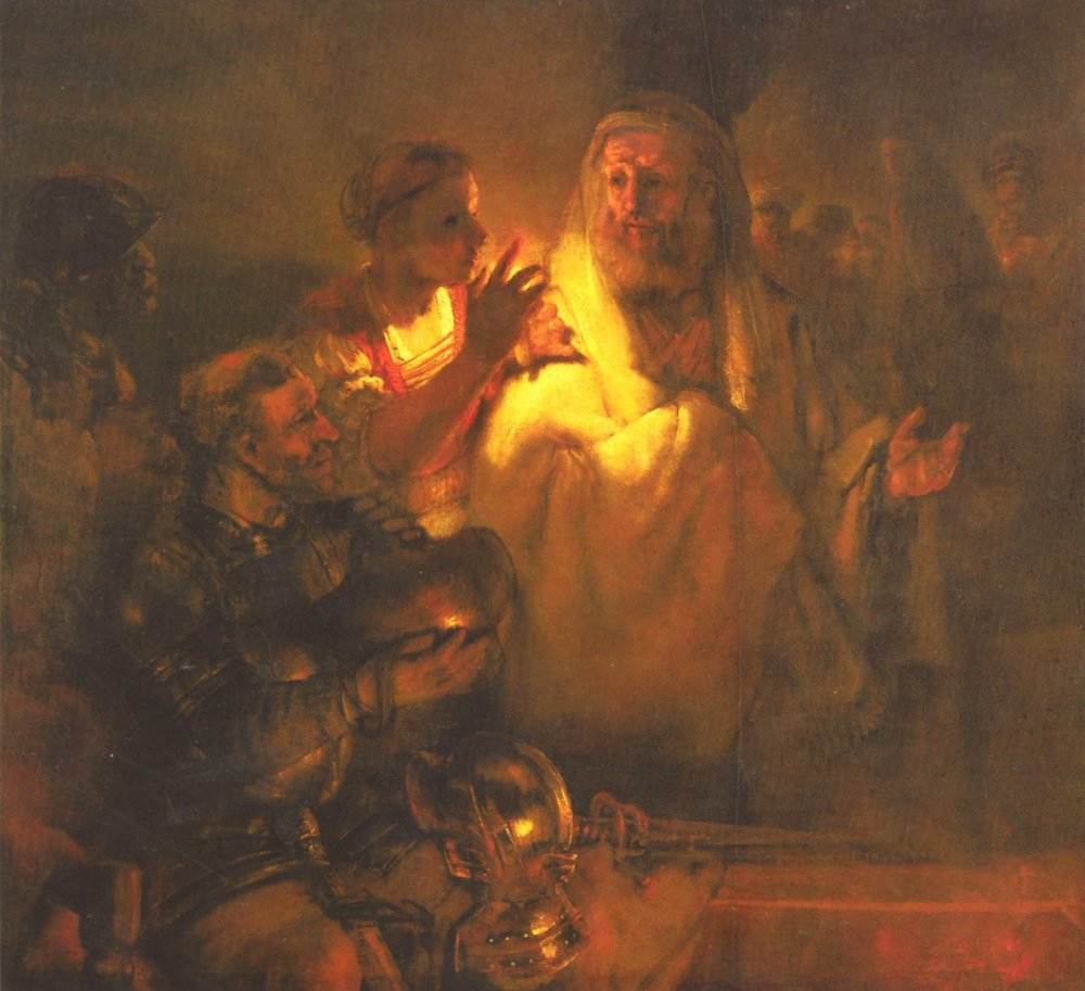Apostle Peter denied Christ by Rembrandt.jpg