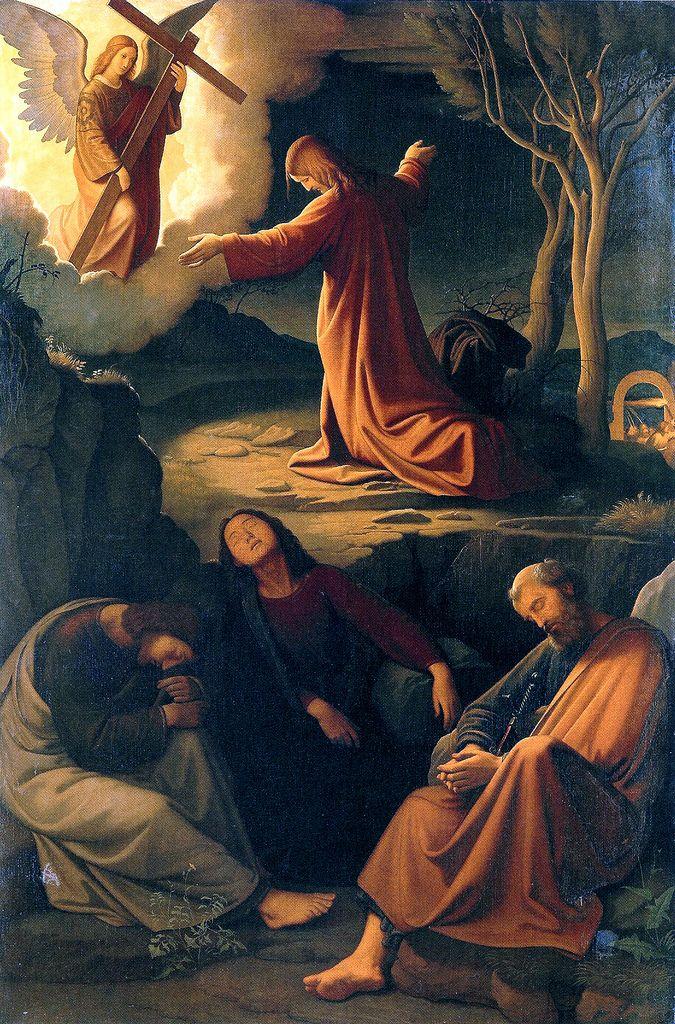 Christ at prayer in Garden