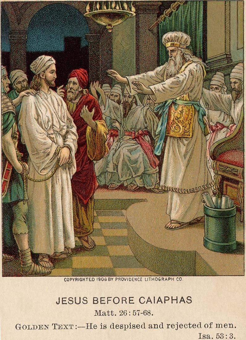 Jesus_Before_Caiaphas-Isaiah_53_3--Matthew_26_57_-_68
