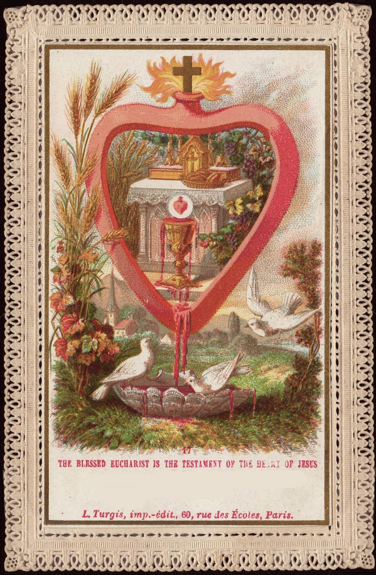 The Blessed Sacrament is the Testament of the Heart of Jesus Turgis